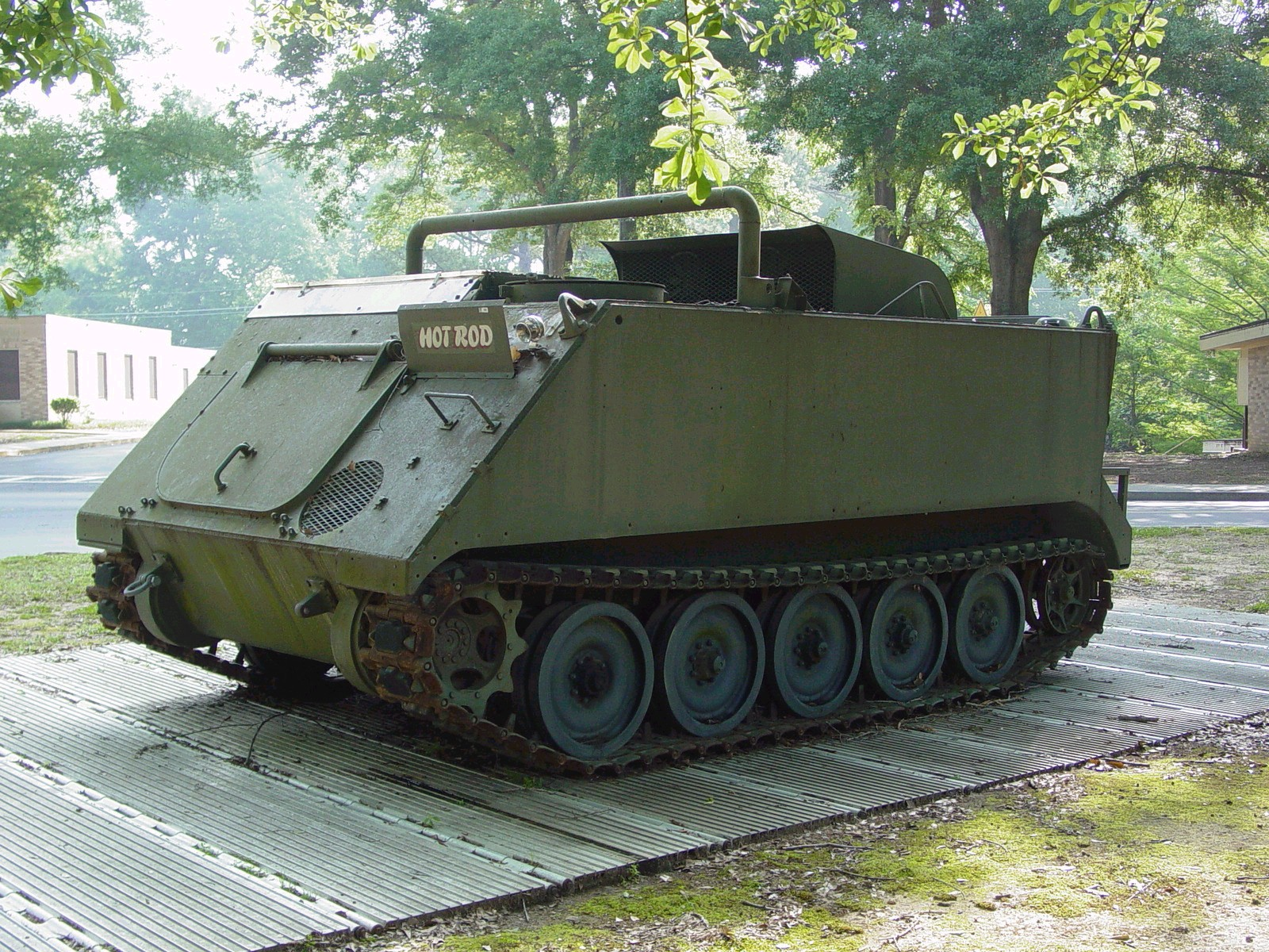 Band Tracks For M113a3 Gavin S M8 Buford Armored Gun Systems