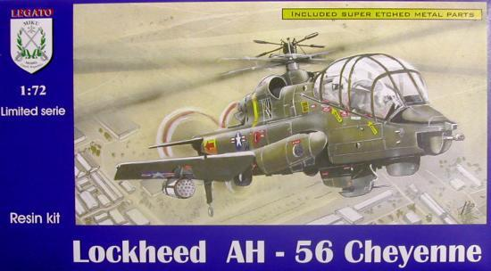 Anigrand Models 1//72 LOCKHEED AH-56A CHEYENNE Attack Helicopter