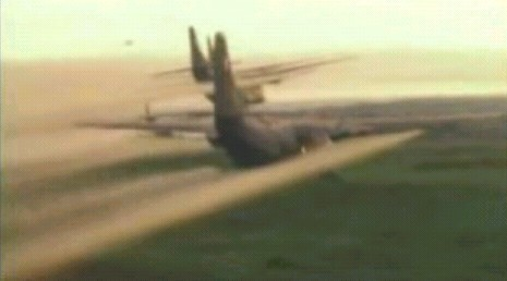 C-123 Ranch Hand aircraft in Vietnam proved aircraft can lay down agents or smoke over large areas