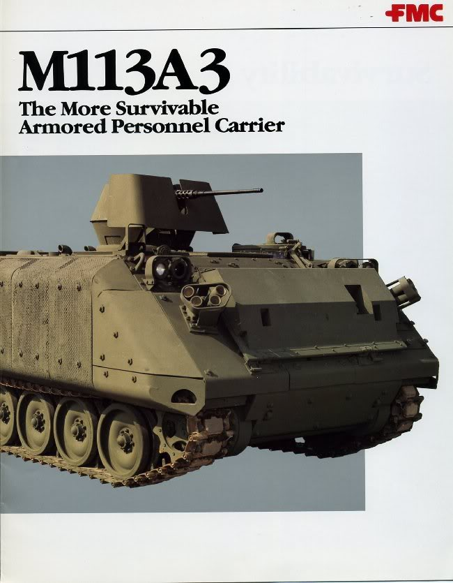 what s wrong with mech infantry rh combatreform org M113A4 M113 Armored Personnel Carrier