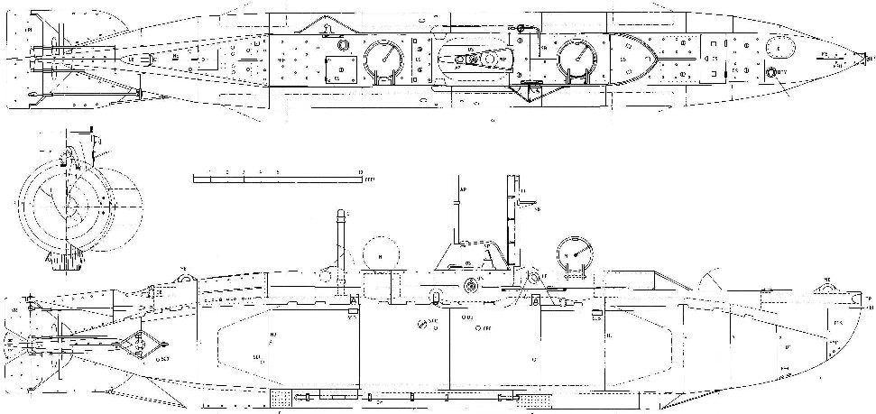 Midget submarine plans