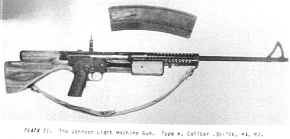 3580086 1941 johnson semi automatic light machine gun for sale at ...