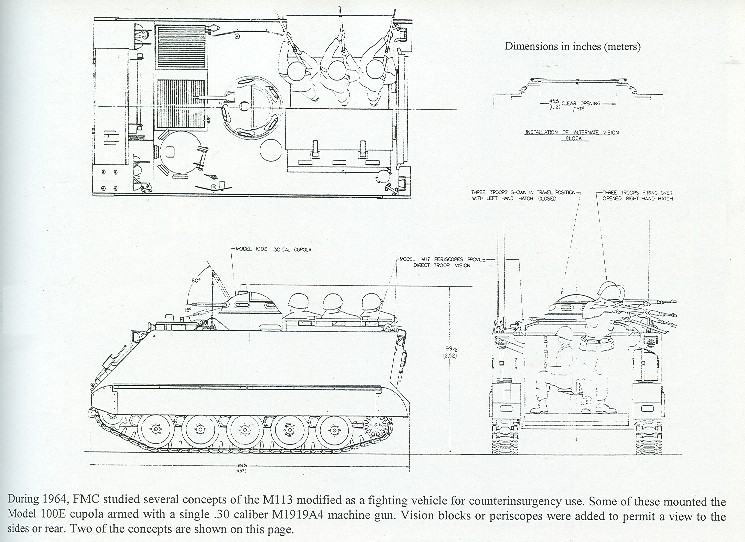 M113 Line Drawing The Way to do This Ironically