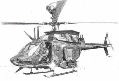 huey helicopter drawing