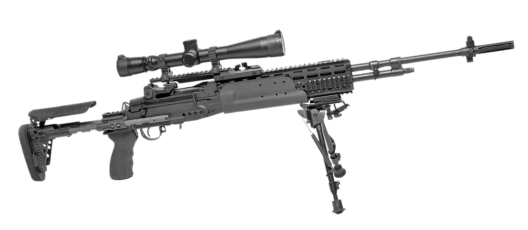 Freedom Depends on Rifles  Tactical Browning Automatic Rifle