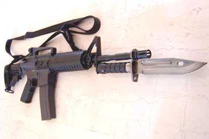 M16 With Bayonet HFC M16 M4 Bayonet Airsoft