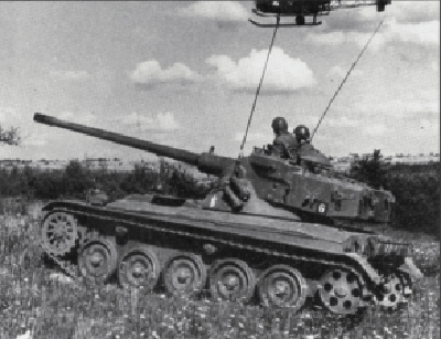 French Airborne used to use the AMX-13