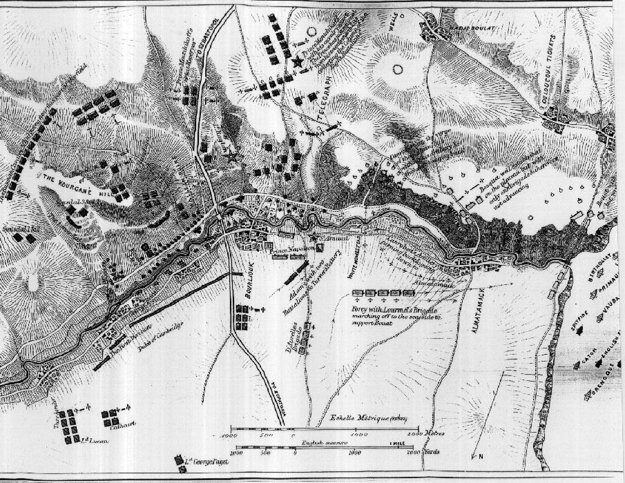 Arnhem Battle Map The Battle of Alma Note Maps