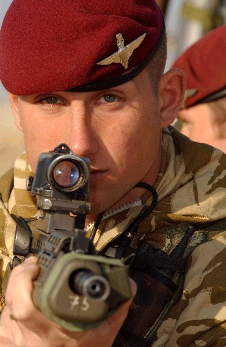 What manner of man is this who wears the maroon beret?