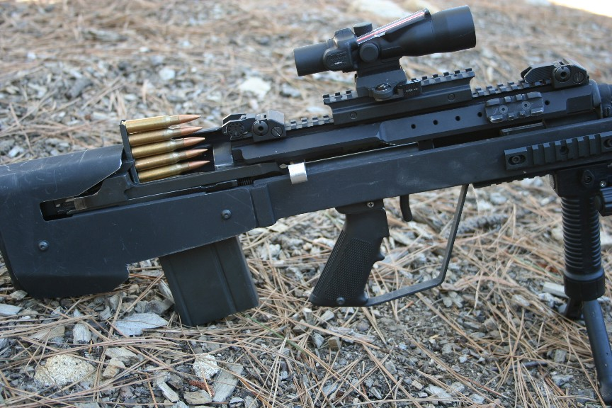 Gallery For > Bullpup M14 M14 Ebr Sniper Rifle