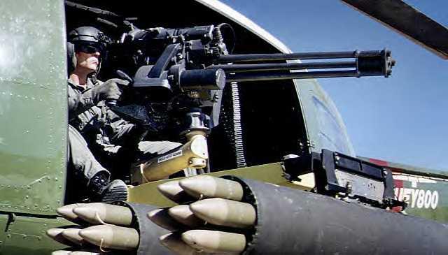 المدفع الرشاش الثقيل GAU-19  Gau19onhuey800doormountwithHYDRA70mm