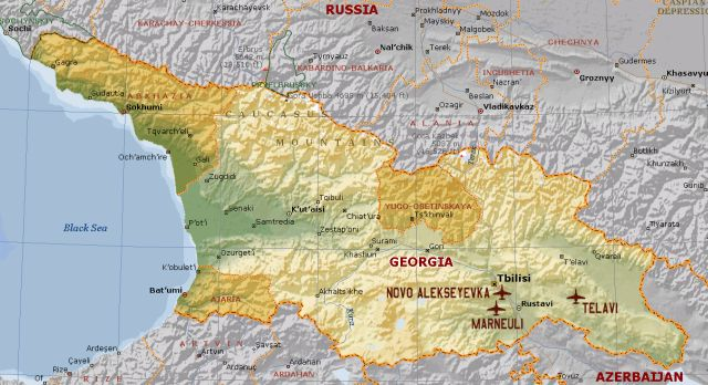 US Sets Up Georgians For Failure Like The IraqisAfghans Too - Georgia map military bases