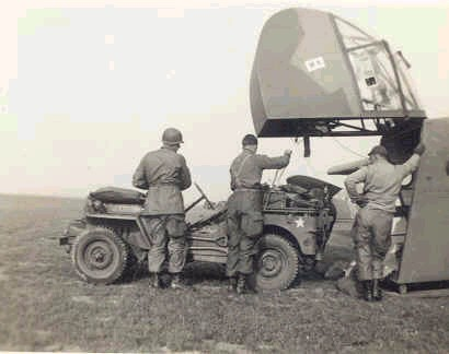 Jeep delivered by gliders were the main innovation of the Allies during WWII