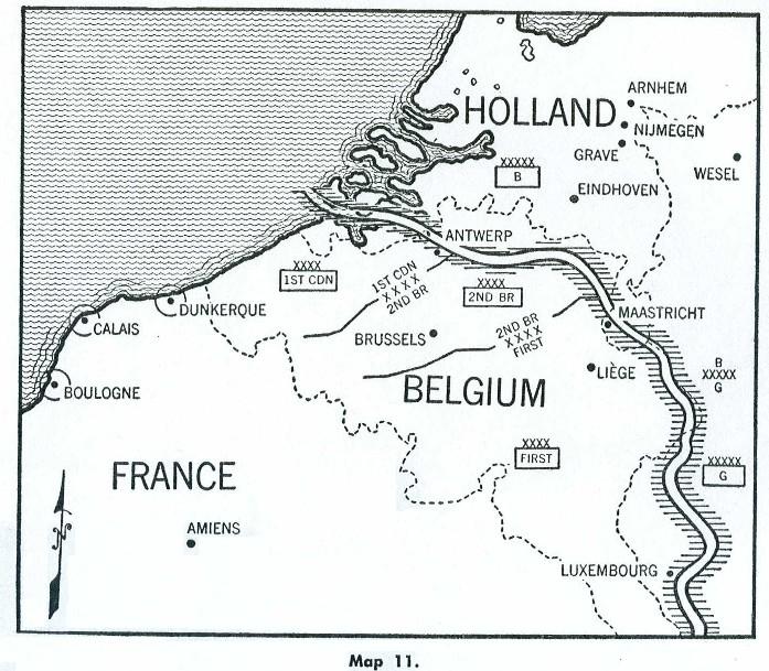Ramelle France Map.Airborne Warfare An Inter Active Examination