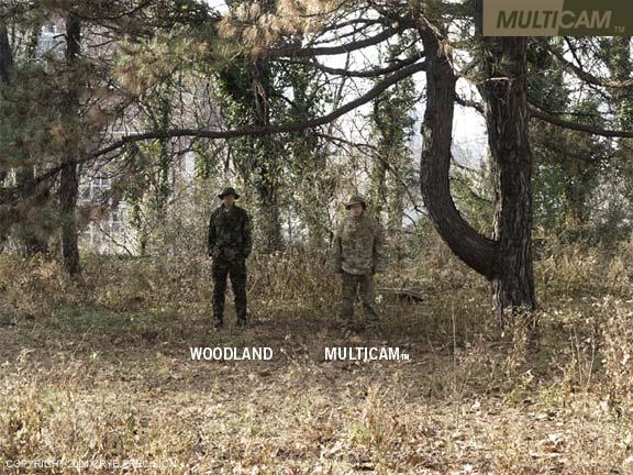 Uniformes seal aor 1 y multicam Multicamvswoodland