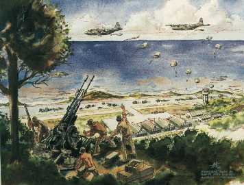 Image result for us army grenada war art