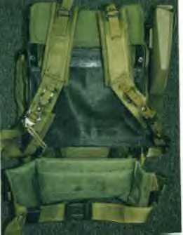 Coleman synthetic frame cut to fit the ALICE rucksack
