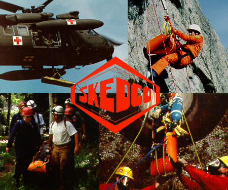 Amazing world-class SKEDCO rescue system