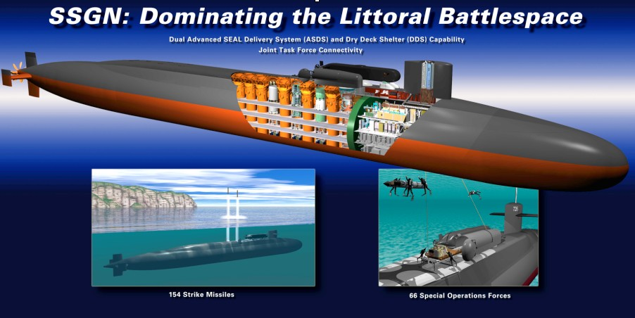 never say never again: aircraft/amphibious carriers must submerge to avoid  ssc destruction