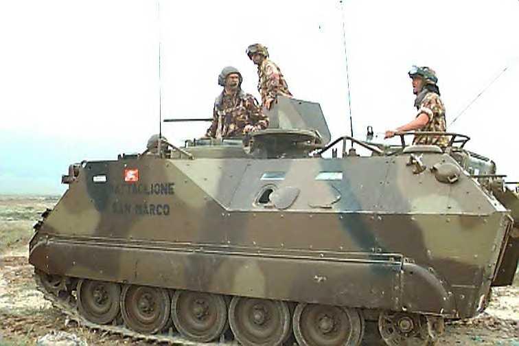Italian Army/NATO M113A3